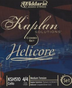 D'Addario Helicore/Kaplan Combination 4/4 Size Cello String Set